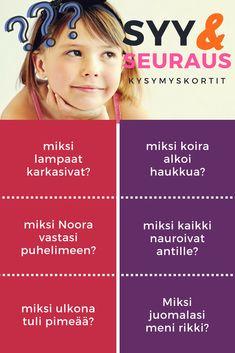 pohditaan mikä on esitetyssä tilanteessa olevan seurauksen syy. Harjoitellaan vastaamaan MIKSI -kysymyksiin. Mitä tapahtuu (SYY), entä mitä tapahtuu syyn SEURAUKSENA? Kindergarten, Language, Kindergartens, Languages, Preschool, Preschools, Pre K, Kindergarten Center Management, Language Arts