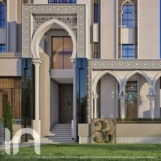 Delicate Arch, Islamic Architecture, Building Design, Moroccan, Mansions, Interior Design, House Styles, Modern, Projects