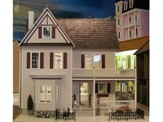 Victoria's Farmhouse-Assembled  by the Little Dollhouse Company