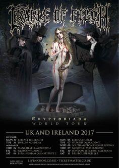 Cradle of Filth - Cryptoriana World Tour 2017