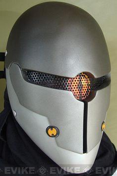 "Evike.com Airsoft Guns - Matrix   Evike.com Airsoft Guns - Limited Edition Rlux Custom Airsoft Wire Mesh ""Gray Fox"" Mask Inspired by Metal Gear Solid  "