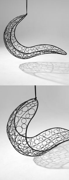 Hanging Chair - available from Studio Stirling. Circular Pattern, Stirling, Adele, Hanging Chair, Tribal Tattoos, Chairs, Studio, Inspiration, Beautiful