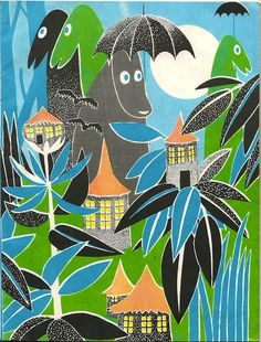 "Illustration from ""Who Will Comfort Toffle?"" illustrated by Tove Jansson (via Where the Lovely Things Are)"