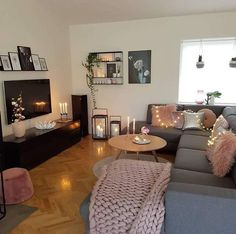 100+ Cozy Living Room Ideas for Small Apartment | Cozy living rooms ...