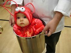 Lobster baby ...aww !! ♡
