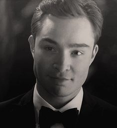 "He's mastered the smirk. | Community Post: 11 Reasons Chuck Bass From ""Gossip Girl"" Is The Only Man You Need"