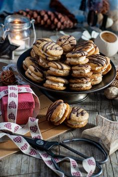 Christmas Sweets, Christmas Baking, Healthy Cookie Recipes, Baking Recipes, Cooking Cookies, Czech Recipes, Croatian Recipes, Cupcakes, Biscuit Recipe