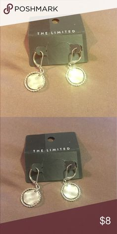 The Limited Silver earrings... BNWT $8! These great earrings are brand new and never been worn! Bundle them with anything in my closet and save 25%! The Limited Jewelry