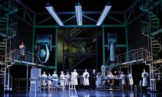 Faust. Metropolitan Opera. Set design by Robert Brill.