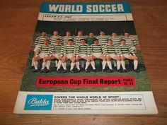 Football Magazine World Soccer July 1967 European Cup Final Rangers Celtic Zsolt | eBay