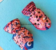 Life's little treasures: Toilet paper roll fishes!