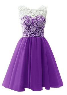 Dresstells Scoop with Lace Short Tulle Wedding Dress, Cocktail, Party, Prom, Evening Dresshttp://www.amazon.co.uk/Dresstells-Dark-Purple-Size-30W/dp/B00R2OV9FW/ref=sr_1_6?s=clothing&ie=UTF8&qid=1426140353&sr=1-6