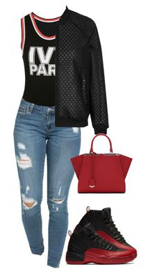 """""""Where are Ü now"""" by princess-alexis18 ❤ liked on Polyvore featuring Ivy Park, Topshop and Fendi"""