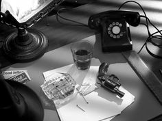 Film Noir desk