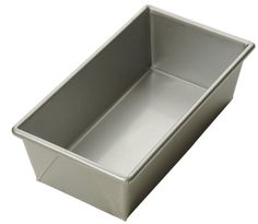 Focus Foodservice Commercial Bakeware 8 by 4-Inch Loaf Pan, 3/4-Pound ^^ Crazy deals that you can't miss : Baking pans