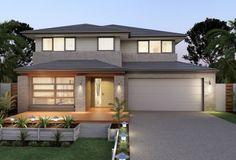 Clarendon Home Designs: Sherwood 37 Vista Facade. Visit www.localbuilders.com.au/builders_queensland.htm to find your ideal home design in Queensland