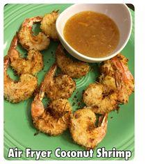 Air Fryer Coconut Shrimp Recipe