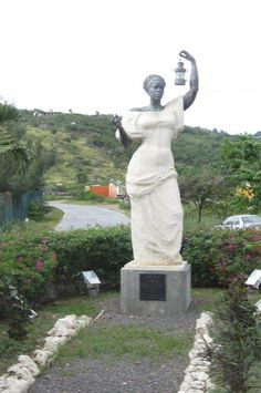 "Never forget..... the first Statue of Liberty given to the U.S. by France was a black woman that the U.S. turned down. The French made another which is the current in NY Harbor. This is ""Black Lady Liberty"" made by the French that ended up on the island of St. Martin."