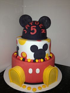 mickey mouse cakes   mickey mouse cake 1