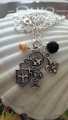 New Orleans Saints Jewelry and  Sir Saint Jewelry by scontrino1970, $13.00