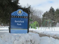 Across the street...Berisford Park...convenient place to play and run and enjoy time together...