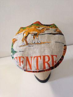 Summer cap- Camel   Serena Lindeman Millinery