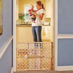 Quick-Fit® Oval Mesh Baby Gate | Baby Gates | North States