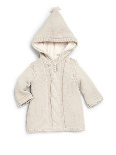 Bonpoint Infant's Sweater Hoodie