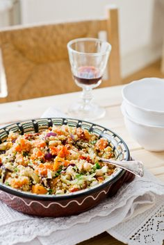 Ensalada de quinoa y calabaza