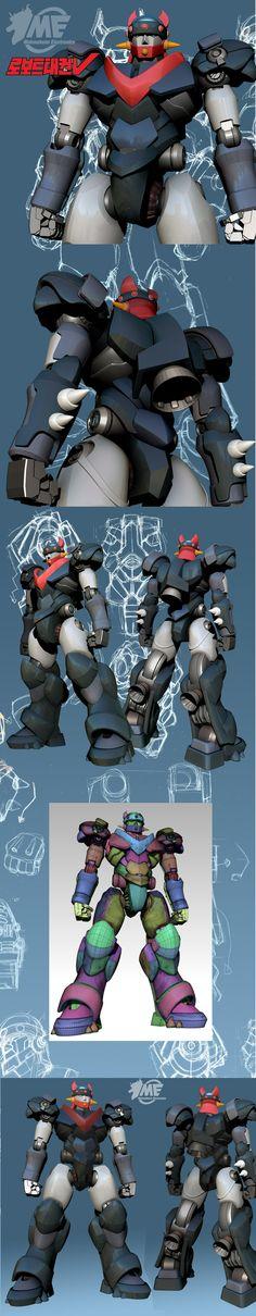 로보트태권 V ROBOT TAKWON V