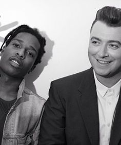 Of course this Sam Smith remix with ASAP Rocky is amazing