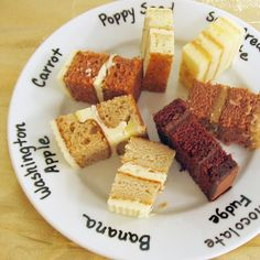22 Exciting Wedding Cake Flavor Ideas---not just for wedding cakes! good flavor combinations!
