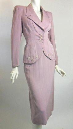 40s suit vintage suit gabardine suit