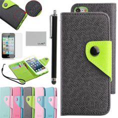 Pandamimi ULAK Black PU Leather Card Holder Wristlet Wallet Type Case Cover For Apple iPod Touch 5th Generation with Stylus and Screen Protector ULAK,http://www.amazon.com/dp/B00E3QCURI/ref=cm_sw_r_pi_dp_e6P7sb0X357CX1FN