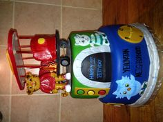 Daniel Tiger's Neighborhood birthday cake