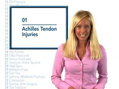 Archilles Tendon Injuries Dr. Randa Bascharon Pinned by SOS Inc. Resources @sostherapy.
