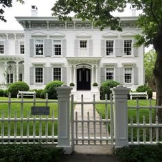 CURB APPEAL – One of the most amazing old homes in Sag Harbor is the Hannibal…