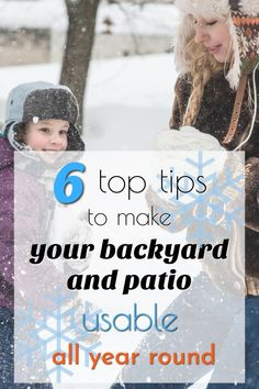 How to make your backyard and patio usable all year round Ponds Backyard, Backyard Fences, Backyard Landscaping, Diy Patio, Patio Ideas, Backyard Ideas For Small Yards, Succulent Gardening, Garden Buildings, Outdoor Parties