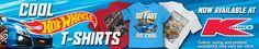 V8 Supercars Hot Wheels Limited Edition car shirts.