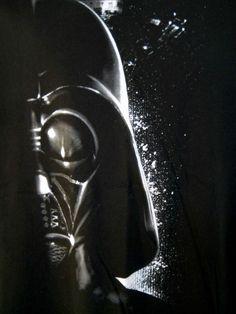 2XL Star Wars Black Tee Shirt Darth Vader Helmet Head White 100% Cotton #StarWars #GraphicTee