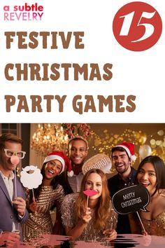 What makes a grand Christmas party? Food, music, people and games! A Subtle Revelry knows if you don't have fun games at your holiday party it will be very dull. We have 15 games for your festivities and they cover whether your party is at home with your family, at the office with co-workers for your children at school as well as your teenagers. We left no stone unturned to bring you a fun time this holiday season. Download the full list… #christmasparty #partygames #holidayseason Christmas Party Games, Holiday Parties, Diy Christmas Decorations Easy, Christmas Diy, Balloon Backdrop, Love Balloon, Holiday Candles, Diy Party, Party Ideas