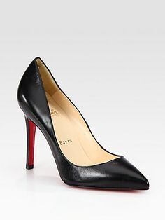 Pigalle 100 Leather Pumps by: Christian Louboutin $625