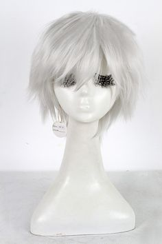 Tokyo Ghoul Kaneki Ken cosplay wig