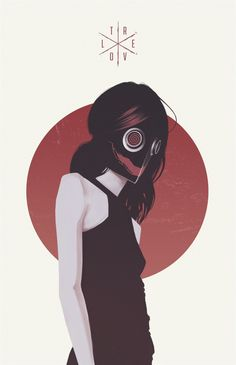 Revolt Series by Thomas Rohlfs, via Behance #illustration #circle #mask #revolt