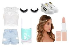 """""""Untitled #1"""" by alexiacasa on Polyvore featuring Ally Fashion, Topshop, adidas Originals, Lulu*s and Rimmel"""