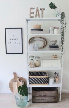 KARWEI | Meer opbergruimte in je keuken nodig? Creëer een stijlvolle opbergplaats voor je borden en potten met deze tips.