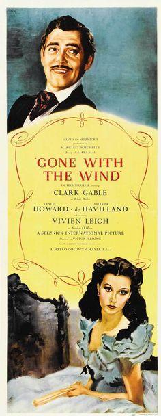 Αποτέλεσμα εικόνας για 'GONE WITH THE WIND' (1939) POSTER