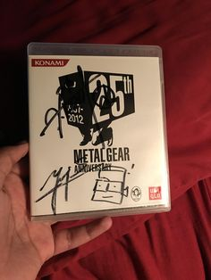 Felt like sharing this and I thought you guys might like it. My autographed copy of Metal Gear Solid 4 signed by Yoji Shinkawa and Hideo Kojima themselves. #MetalGearSolid #mgs #MGSV #MetalGear #Konami #cosplay #PS4 #game #MGSVTPP
