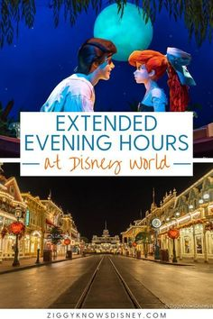 If you are visiting Disney World soon, then you need to read this information from Ziggy Knows Disney! We tell you everything you need to know about Disney's extended magic hours such as, what are they and when do they take place. Read the best Disney World tips before your family vacation! Disney World Guide, Disney World Secrets, Disney World Vacation Planning, Disney Vacation Club, Walt Disney World Vacations, Disneyland Trip, Disney Resorts, Disney World Tips And Tricks, Disney Travel
