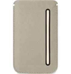 @Terri McKinney- you need this - iphone case with credit card slot